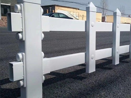 Rigid plastic extrusion for Building and road construction