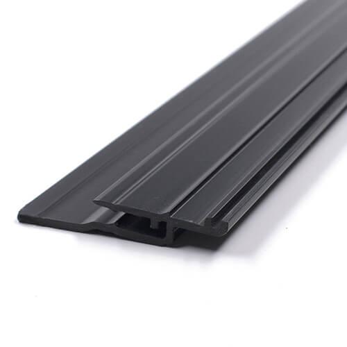 Extrusion plastic strip Black PVC