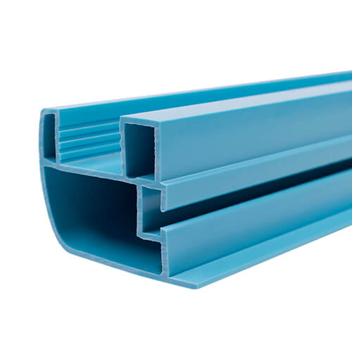 colored pp extrusion profiles