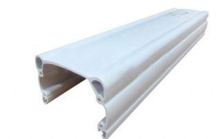 White PVC profiles
