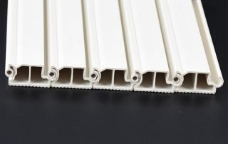 Rigid or soft extruded profiles