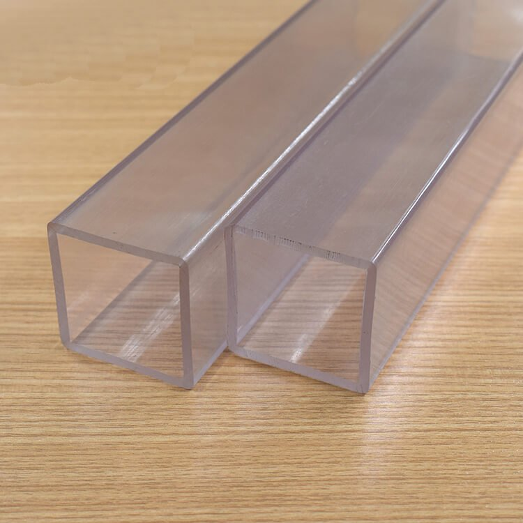 1 inch square polycarbonate tube