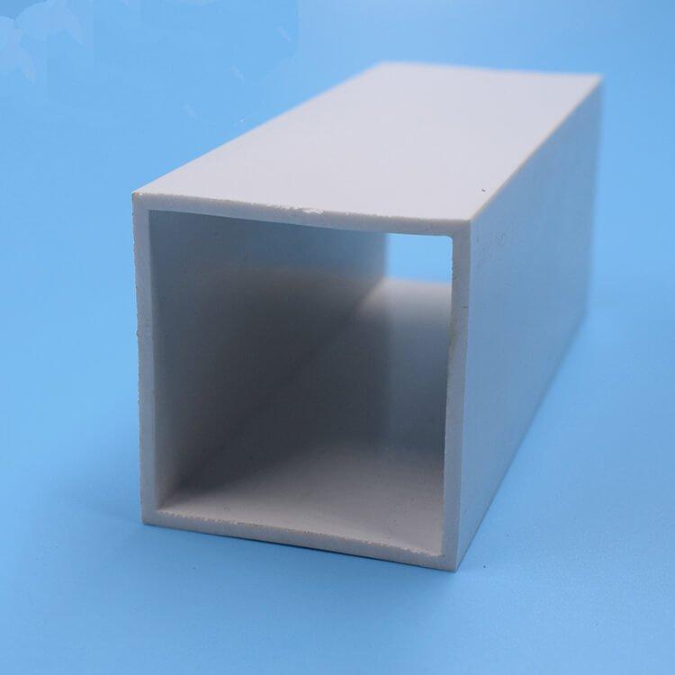 Extruded PVC square plastic pipe