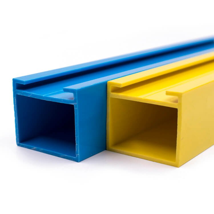 open extruded plastic profiles