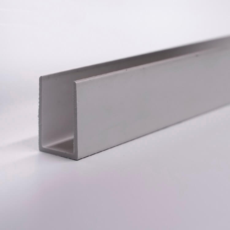 u channel extruded plastic profiles
