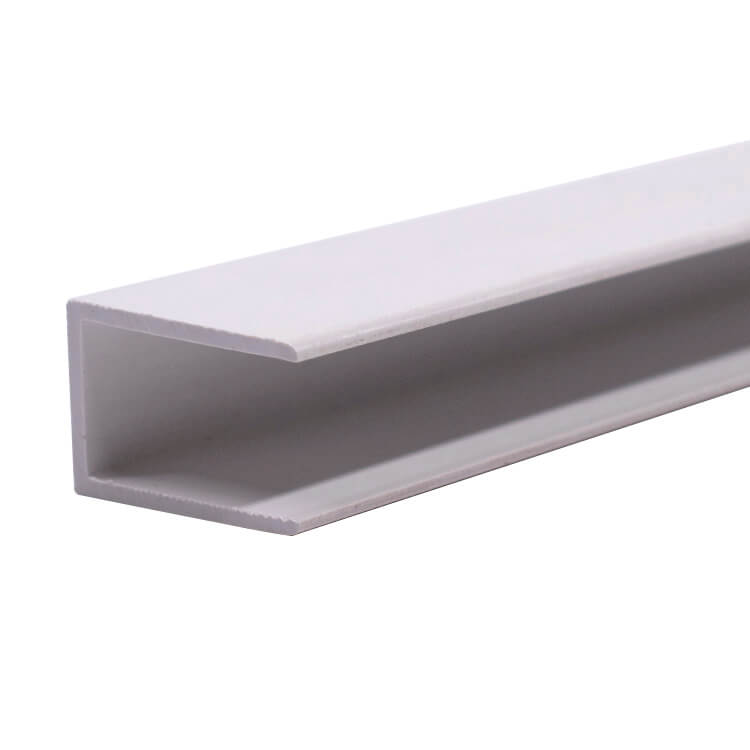 u channel extruded profile