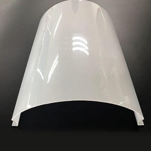 milky white polycarbonate profile