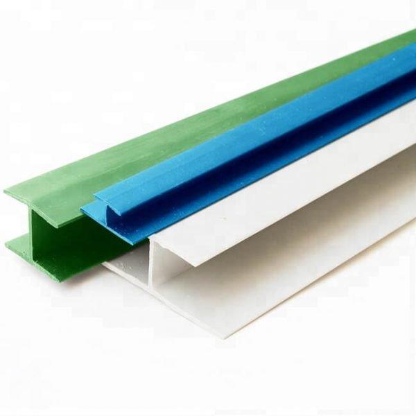 PVC H profiles
