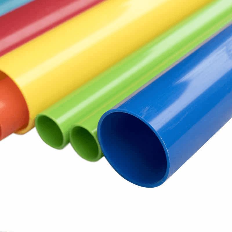 Extrusion plastic pipe