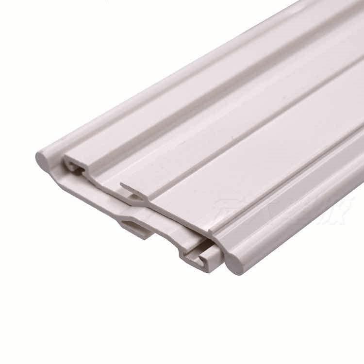 Semi rigid PVC profile for cable