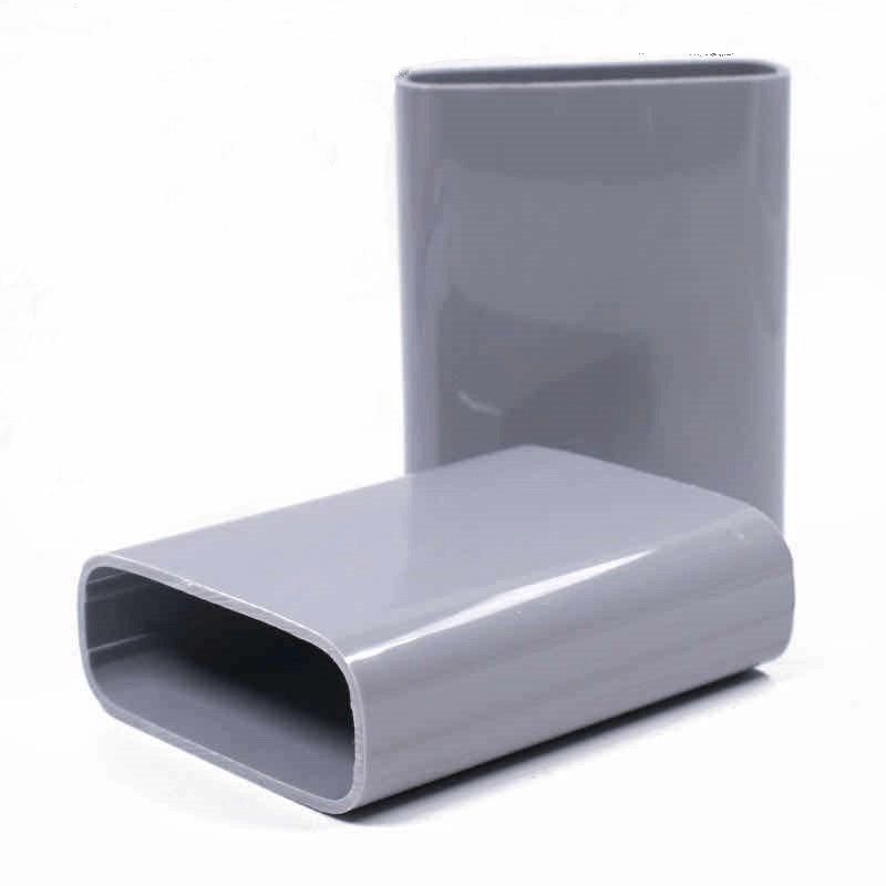 Hollow extruded plastic profile