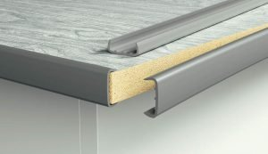 C channel edge trim