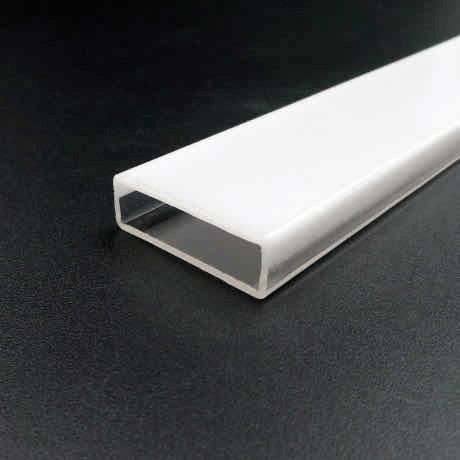 co-extruded acrylic tube sqaure shape