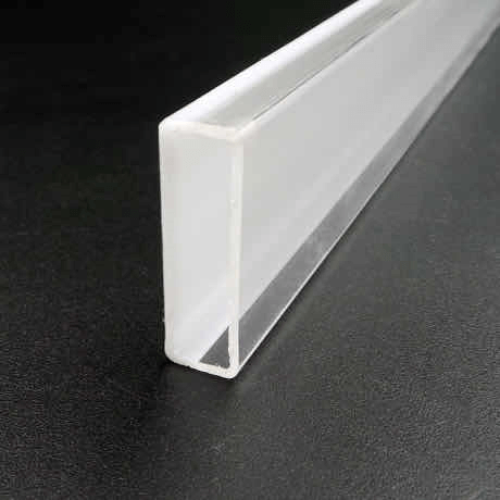 Co-extruded large plastic square tubing
