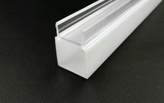 transparent PVC plastic profile