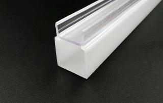 transparent PVC plastic profile