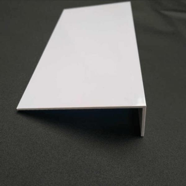 White PVC furniture edge corner