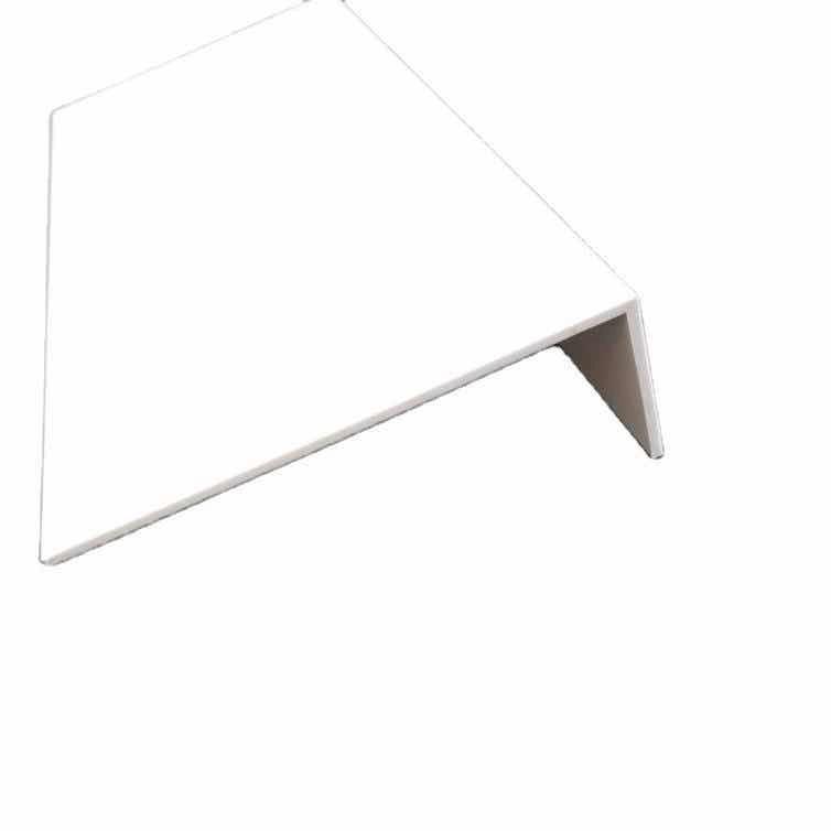 Plastic PVC angle profile