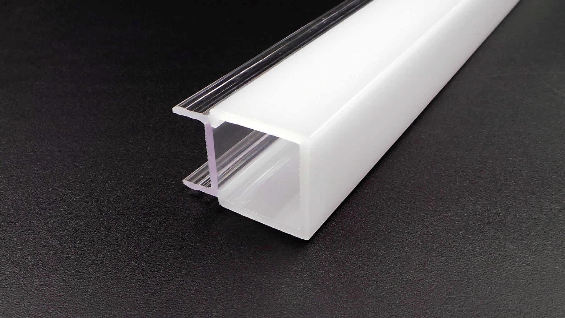 Transparent PVC Profiles