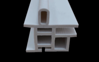 extruded PVCu window and door profile