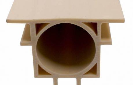 Cold extrusion plastic profiles