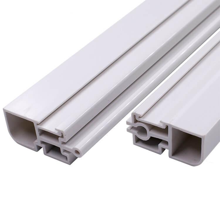 Flame retardant PVC plastic profile