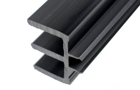 E shaped PVC decorative strip