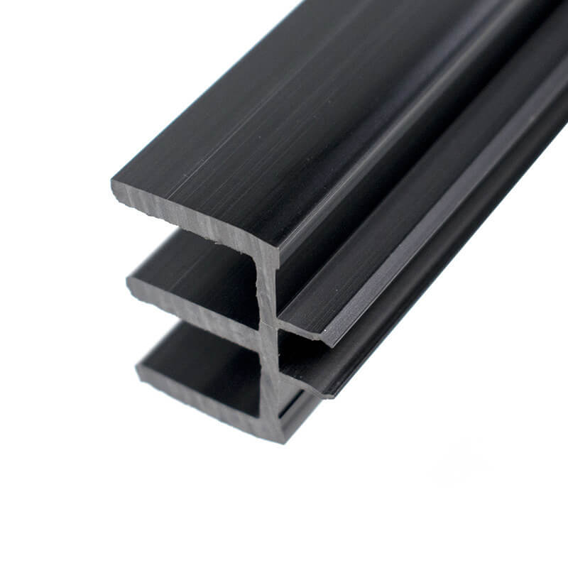 E shaped PVC decorative strip