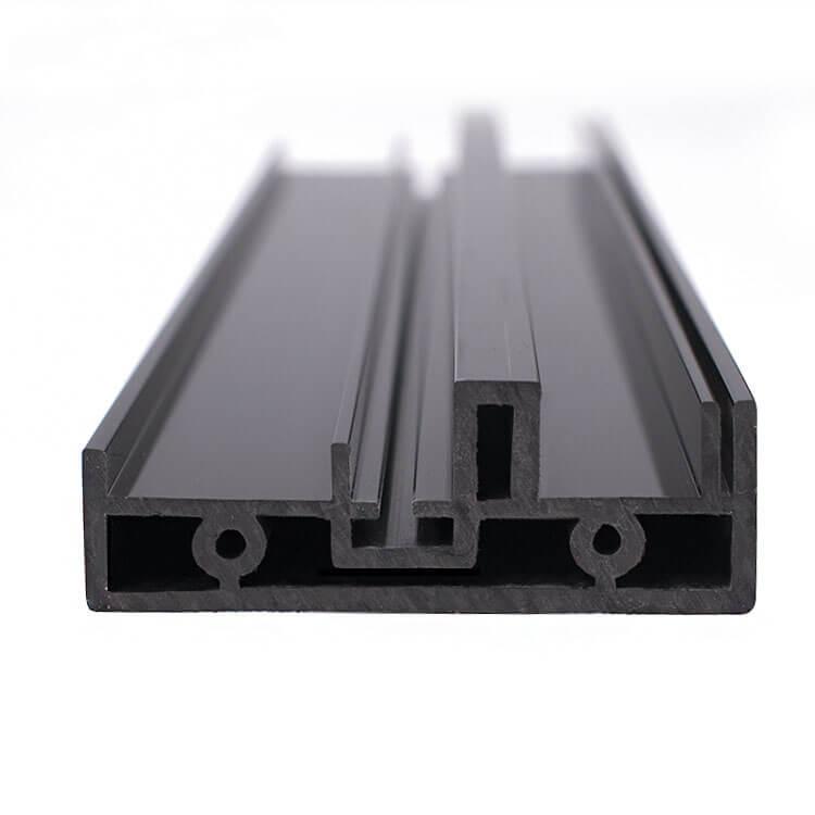 Flame retardant PVC high gloss profiles