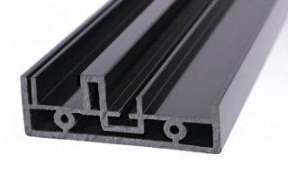 Flame retardant PVC profile