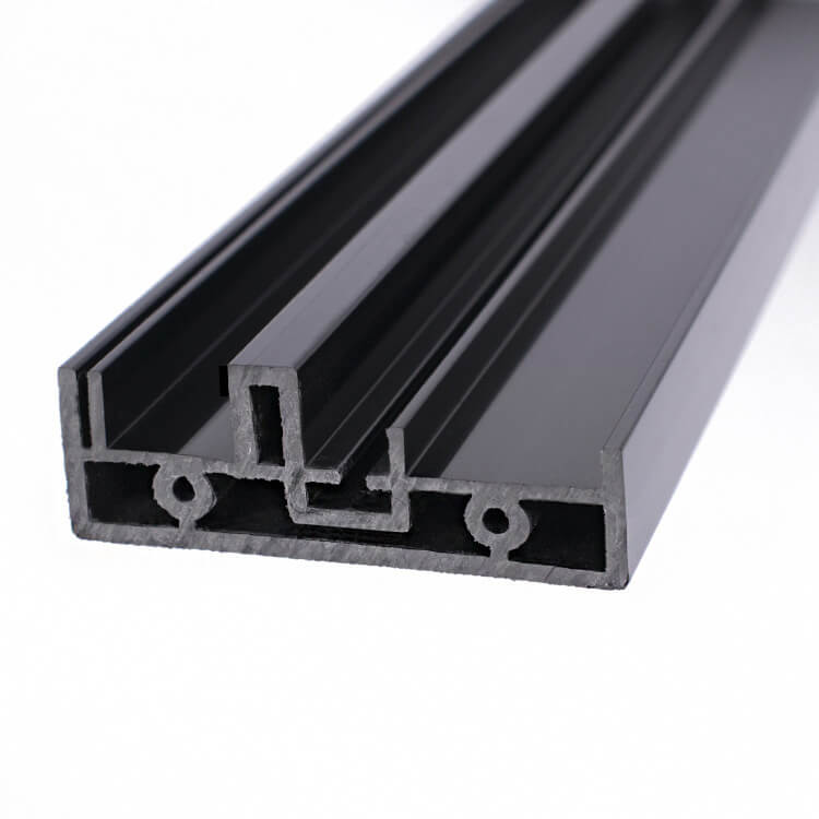 Flame retardant PVC profile