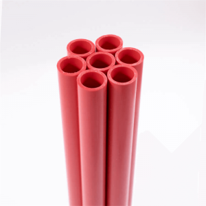 extruded plastic profile and tubing