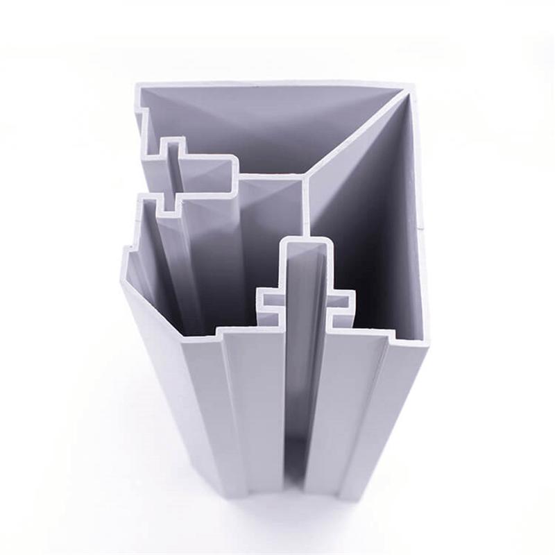 PVC window and door profiles
