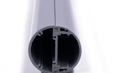snap buckle movable PVC cylinder profile