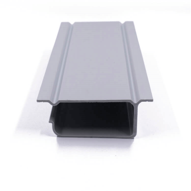 U-shaped plastic frame profile
