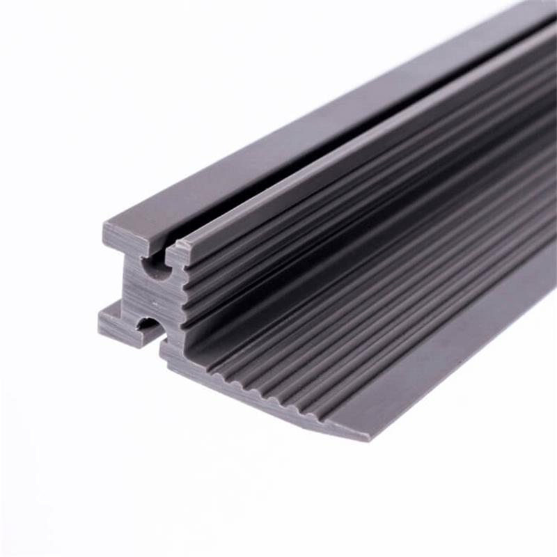 PVC plastic connection fitting profile