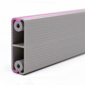 PVC two color coextrusion