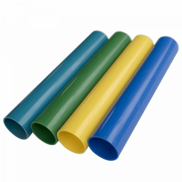 color flexible PVC pipe