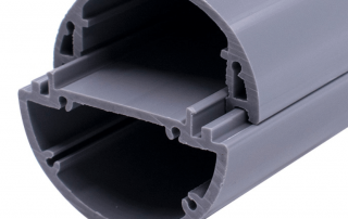 cold extrusion PVC profile for wiring trunk