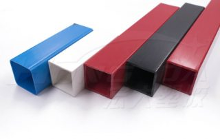 Plastic Box Section Rectangular Tubing