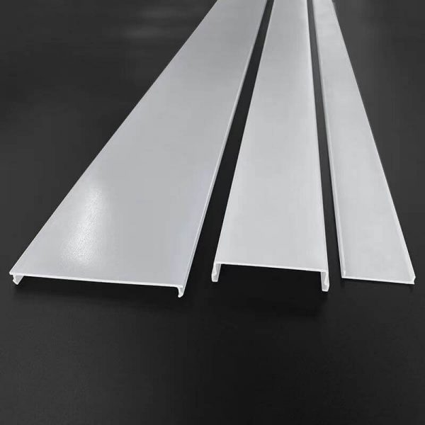 Frosted Acrylic Extrusion Diffuser Lighting Cover