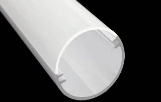 Two-color Co-extrusion Polycarbonate lighting tube T5/T8