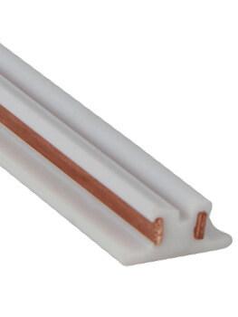 PVC copper coextruded guide rail track conduction strips